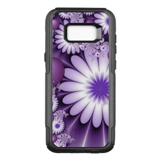 Falling in Love Abstract Flowers & Hearts Fractal OtterBox Commuter Samsung Galaxy S8+ Case
