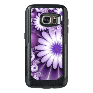 Falling in Love Abstract Flowers & Hearts Fractal OtterBox Samsung Galaxy S7 Case