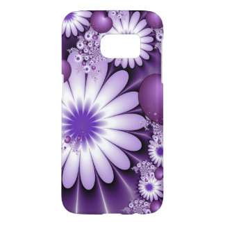 Falling in Love Abstract Flowers & Hearts Fractal Samsung Galaxy S7 Case