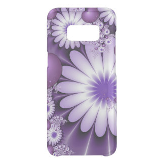 Falling in Love Abstract Flowers & Hearts Fractal Uncommon Samsung Galaxy S8 Case