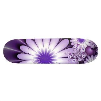 Falling in Love Abstract Fractal Art Skateboard