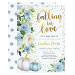 Falling In Love Baby Shower Invitation Fall Shower