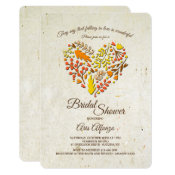 Falling in Love Bridal Shower Invitation