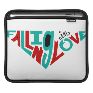 Falling in love iPad sleeves