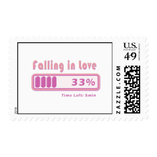 Falling in Love percentage Postage