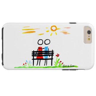 falling in love tough iPhone 6 plus case
