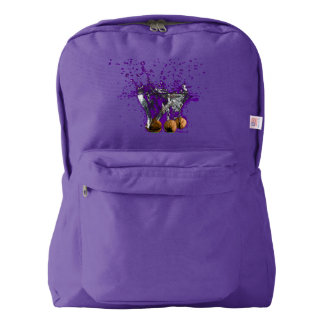 Falling into the water,For school entry Backpack