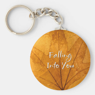 Falling Into You Keychain