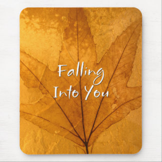 Falling into you Mousepad