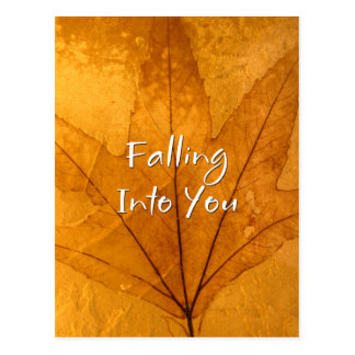 Falling Into You Postcard