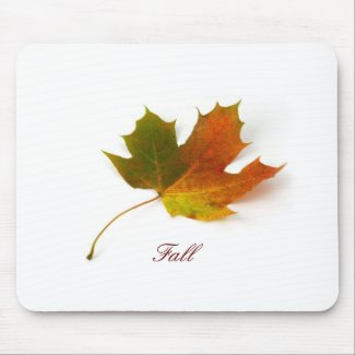 Falling Leaf mousepad