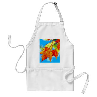 Falling Leaves Adult Apron