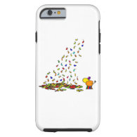 falling leaves and donkey tough iPhone 6 case