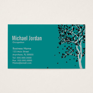 Falling Leaves ~ Business Cards