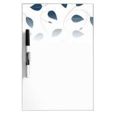Falling leaves Dry-Erase board