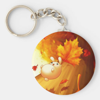 Falling Leaves Keychain