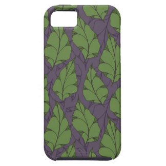 Falling Leaves Mulberry iPhone SE/5/5s Case
