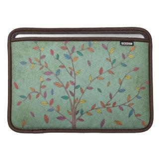 Falling Leaves Oak Tree Hand Drawn Art MacBook Air Sleeve