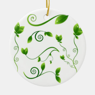 Falling Leaves Ornament