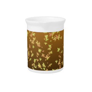 Falling Leaves Beverage Pitchers