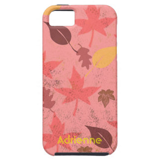 Falling Leaves Tough iPhone 5 Covers