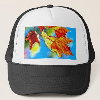 Falling Leaves Trucker Hat