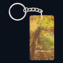 Falling Light Acrylic Keychain