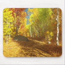 Falling Light Mousepad