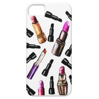 Falling Lipsticks iPhone SE/5/5s Case