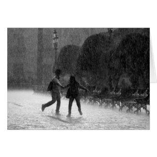 Falling Rain Card