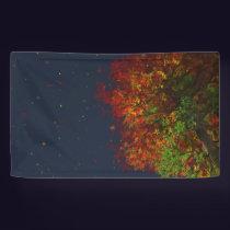 Falling Rainbow Banner