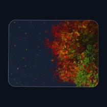 Falling Rainbow Flexible Magnet