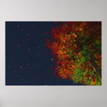 Falling Rainbow Print