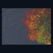 Falling Rainbow Tablecloth
