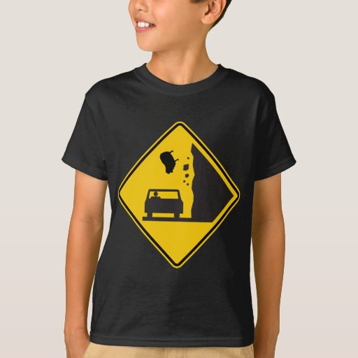 Falling Sheep Zone Highway Sign T-Shirt