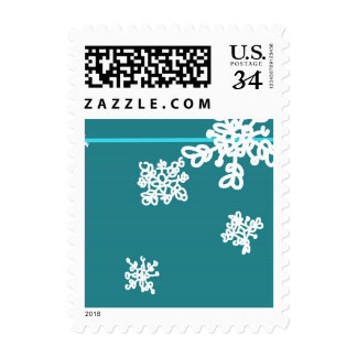 Falling Snow Stamp