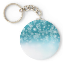 Falling Snowflakes ❄️❄️ Keychain