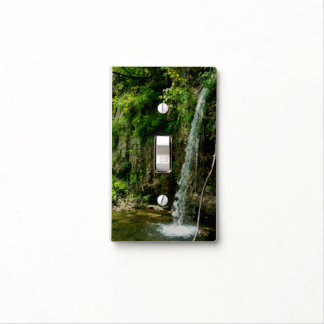 Falling Spring Waterfall Light Switch Cover