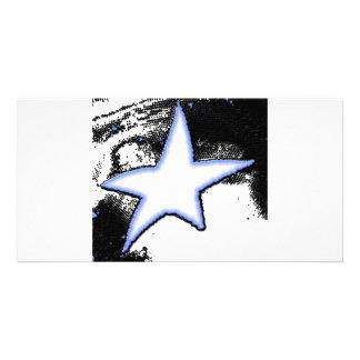 Falling Star Custom Photo Card