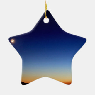 FALLING STAR CHRISTMAS ORNAMENTS