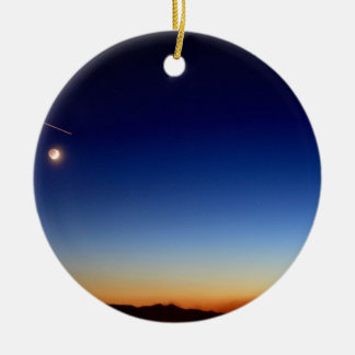 FALLING STAR CHRISTMAS TREE ORNAMENT