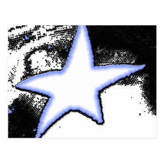 Falling Star Postcard