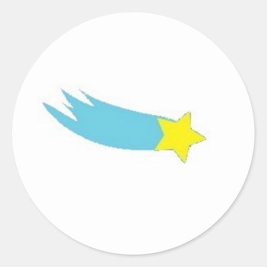 Falling Star Sticker