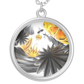 Falling Stars Abstract Necklace