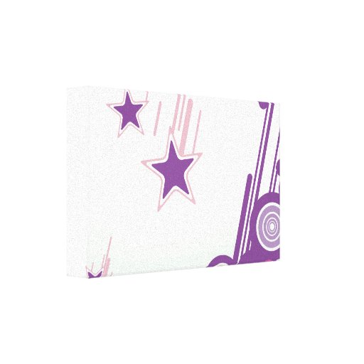 Falling Stars Gallery Wrap Canvas