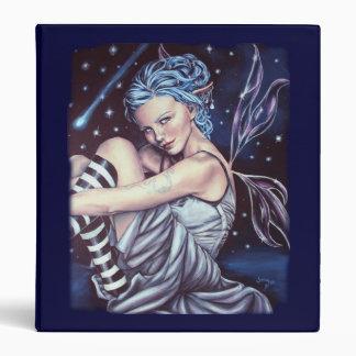 falling stars faery artwork binder