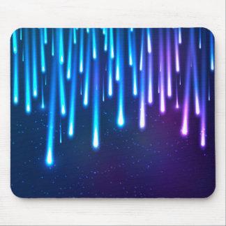 Falling stars mouse pad