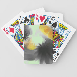 Falling Stars Pastel Abstract Card Deck