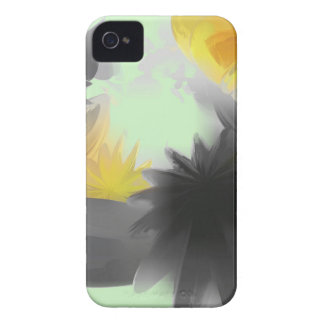 Falling Stars Pastel Abstract iPhone 4 Case-Mate Cases