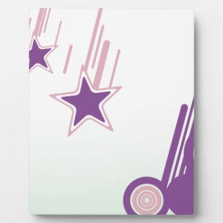 Falling Stars Photo Plaque